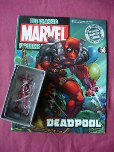 Deadpool #56 Classic Marvel Figurine Collection Fig/Mag Eaglemoss VGC/FN