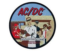 AC/DC dirty deads done dirt cheap 2004 - WOVEN SEW ON PATCH no longer made