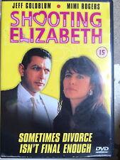 Jeff Goldblum Mimi Rogers TIRO Elizabeth ~1992 CRIMINE Commedia UK DVD