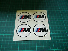 BMW M3 Wheel Centre Stickers x 4 (50mm)