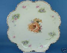 Antique Rosenthal RC Monbijou Bavaria Plate Scroll Rim