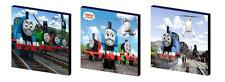 THOMAS THE TANK ENGINE - CANVAS ART BLOCKS/ WALL ART PLAQUES/PICTURES