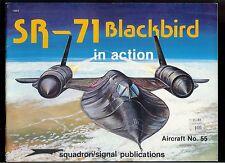 Rare Squadron Signal Magazine SR-71 Blackbird in Action Aircraft No. 55
