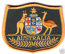 Australian Coat Of Arms Iron On / Sew On Badge Patch