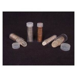 5 ~~ ASSORTED ROUND COIN TUBES ~~ YOU PICK ~~ PENNY-NICKEL-DIME-QUARTER-HALF