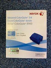Genuine Xerox 108R01026 Cyan Metered ColorQube Ink 8900