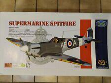 Vq Supermarine Spitfire 1540mm Ep/Gp .50size Arf