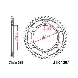 JT 525 44T Rear Sprocket for Honda 2003-16 CBR600RR 600RA 01-06 F4i JTR1307.44