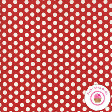 Moda HOMETOWN CHRISTMAS Red dots 5666 22 Sweetwater QUILT FABRIC