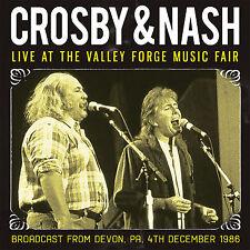 DAVID CROSBY & GRAHAM NASH New Sealed 2018 UNRELEASED LIVE 1986 CONCERT CD