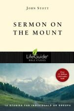 Sermon on the Mount (Lifeguide Bible Studies) Stott, John Paperback