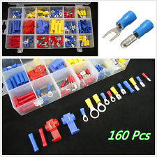 160in1 New Type Car Off-Road Heat Shrink Wire Connector Terminals Kits Assorted