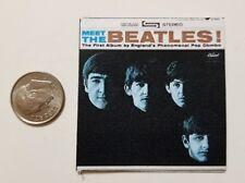Miniature record album Barbie Gi Joe 1/6  Playscale Meet the Beatles