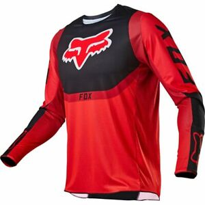 New Fox Racing Youth 360 Voke Jersey, Flo Red, Youth Large, 25860-110-YL