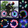 32 LED Patterns Cycling Bikes Bicycles Rainbow Wheel Signal Tire Spoke Light US