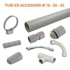 Tubo rigido e accessori per impianti elettrici parete Pvc plastica esterno 3 ml