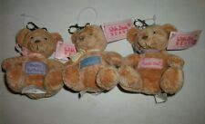 Russ® With Love Slogan Keychain Bear - 3 Choices (Birthday, Love, Thanks) - Mint