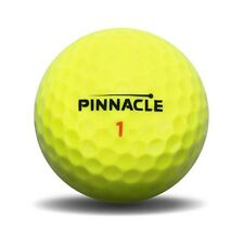 "1 Dozen (12) Pinnacle YELLOW  ""RUSH""  Golf Balls - Mint!! Flawless!"