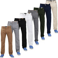 New Mens Designer Jacksouth Chino Straight Leg Slim Fit Stretch Jeans