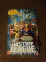 "ANTI-AMAZO SUPERMAN JUSTICE LEAGUE UNLIMITED DC SUPER HEROES MATTEL 4"" FIGURE"