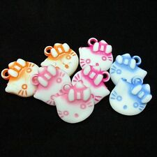Hello Kitty Lot of 8 Charms Small Pendants