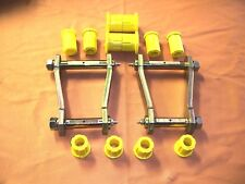 HILUX REAR GREASABLE SHACKLE AND BUSH KIT FOR LN167  & KZN165  MODELS