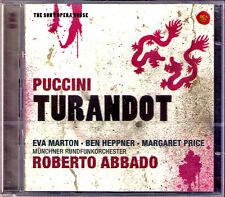 Puccini TURANDOT Ben Heppner Eva Marton Margaret Price Ahnsjö Roberto creda 2cd
