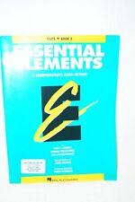 Flute Book 2 - Essential Elements - A Comprehensive Band Method