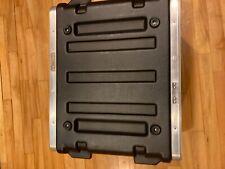 4u rigid plastic studio rack black used in great condition