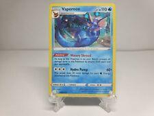 (Near Mint) Nintendo Pokemon Card 'Blister Cosmos Holo Promo' Vaporeon (SWSH072)