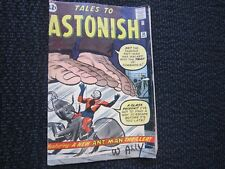 Tales To Astonish #36 - 1962 - 3rd Ant Man, 2nd in costume