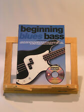 Beginning blues bass méthode tablatures + cd