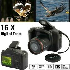 Digital SLR Camera 3 Inch TFT LCD Screen 16X Zoom HD 16MP 1080P Anti-Shake US