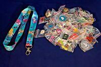 Disney World Pin Trading Lot Lanyard Starter Alice in Wonderland Cheshire 25 Pin
