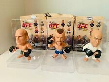 "MMA UFC Titans 5"" Vinyl Collectibles Chuck Liddell BJ Penn Randy Couture MIB"
