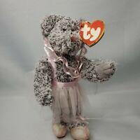 Ty Attic Treasures Collection - Eva the Ballerina Bear Jointed 2001 Beanie Baby