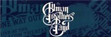 Allman Brothers Blue Logo Sticker - One Way Out Decal Music Band Album Art Se74