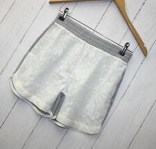 Kaffe Mille Pantalón corto talla XS Light Gris Mezcla NUEVO