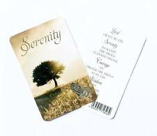 Serenity Prayer - Prayer Card - Credit Card Size