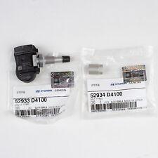 OEM Hyundai Kia TPMS Tire Pressure Monitor Valve Stem NUT ONLY 52934-D4100-4PC