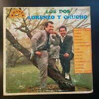 """Lorenzo de Monteclaro y Chucho Rodriguez """"Los Dos"""" Vinyl Record LP"""