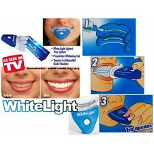 Lot De 2 Kit Blanchiment Dentaire Dents Blanche Professionnel White Light Neuf