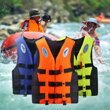 Adult Kids Watersport Sailing Fishing Aid Vest Life Jacket Kayak Ski Tr