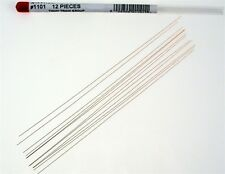 "Tichy 1102 .015"" Phosphor Bronze Wire 12 pieces 8"" ea 293-1102 MODELRRSUPPLY-com"