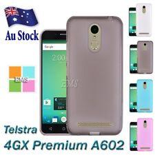Soft Gel Matte Clear TPU Case Cover For Telstra 4GX Premium A602