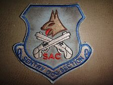 US Air Force Patch SAC Strategic Air Command SENTRY DOG SECTION