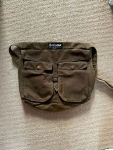 Barbour bag UNUSED waxed cotton exterior