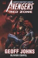 Avengers: Red Zone (HC) Geoff Johns New 1st