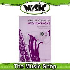 New Grade by Grade: Alto Saxophone Level 1 Music Book & CD
