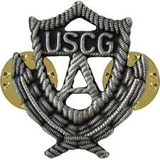 """USCG Coast Guard Auxiliary Badge Regulation Past Officer NEW (Made in USA) 1"""" H"""